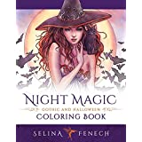 Night Magic - Gothic and Halloween Coloring Book