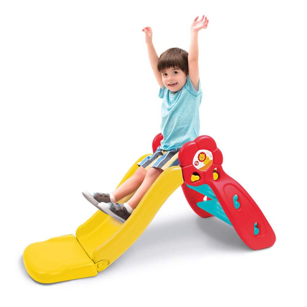 すべり台 遊具 すべりだい 滑り台 傾斜角度2段階 スライダー 室内 室外 子供 誕生日 プレ折りたたみできるすべり台 111x51x54cm B07RGFRWD5