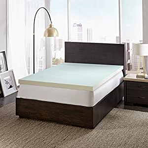 Amazoncom Dreamfinity 3 Cooling Memory Foam Mattress Topper King