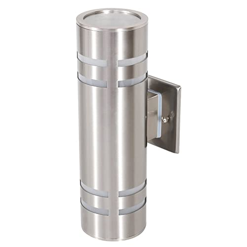 Stainless Steel Outdoor Wall Light Amazon Com