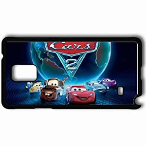 Personalized Samsung Note 4 Cell phone Case/Cover Skin 2011 cars 2 movies pixar's movies Black