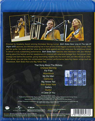 Both Sides Now - Live at The Isle of Wight Festival 1970 [Blu-ray] by Eagle Rock Ent (Image #1)