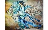Needleart World Diamond Dotz Diamond Embroidery Facet Art Kit 21.7''X30.7''-Dragon Princess