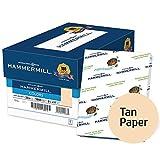 Hammermill Printer Paper, Colors Tan, 20lb, 8.5 x 11, Letter - 10 Pack/5,000 Sheets (102863C)