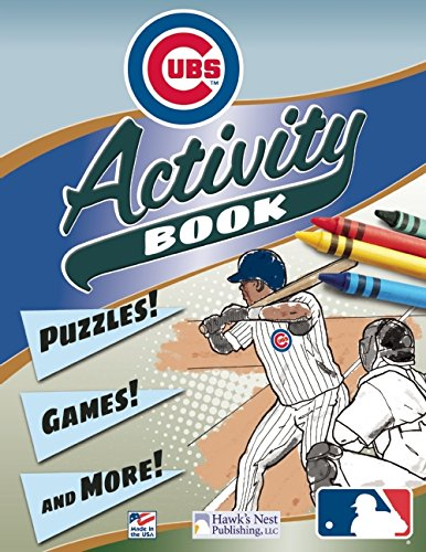 Read Online MLB Chicago Cubs Activity and Coloring Book PDF