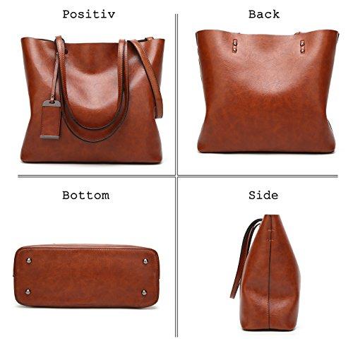 Main Coolives Simple De Rose Paquet Vintage Sac Bleu Mode Pu Grand Top À Bandoulière Lady Femme t7Zrxzqwt