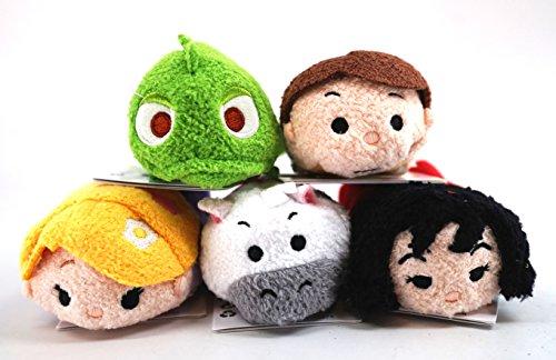 "Disney Tsum Tsum"" Mini Plush Collection, Tangled, Set of ..."