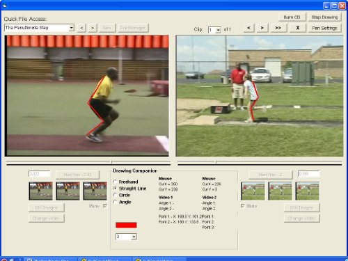 (Long Jump inMotion is the fifth volume in the seven part Field Events inMotion multimedia software training series. This unique volume focuses on the fundamentals involved in mastering the long jumping. Long Jump inMotion includes video clips from one of America's most respected track and field clinicians, Lloyd Richardson's Long Jump: Skills & Drills DVD. Long Jump inMotion is designed to help players master the proper long jumping techniques by comparing their skills, side-by-side and in frame-by-frame sequence, against an acknowledged reference point.)
