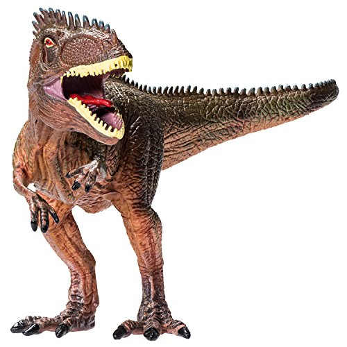 Tyrannosaurus Rex Dinosaur Toy Action Figure - Large And Realistic Design For Boys And Girls (Rex Dinosaur)