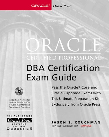 Buy Oracle Certified Professional/DBA Certification Exam Guide Book ...