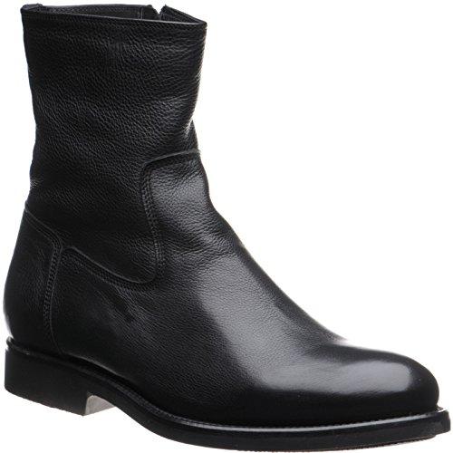 Herring Herring Stockholm - Zapatos de cordones de Piel para hombre Negro - Black Grain