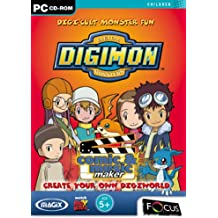 Digital Monsters Digimon Comic & Music Maker