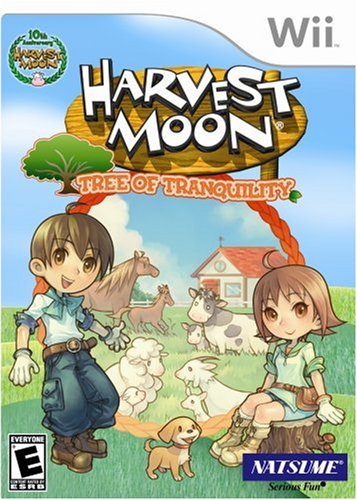 Harvest Moon: Tree of Tranquility - Nintendo Wii by Natsume