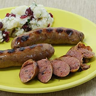 product image for Wild Boar Sausage with Cranberries and Shiraz Wine - 12 oz pack - 4 links