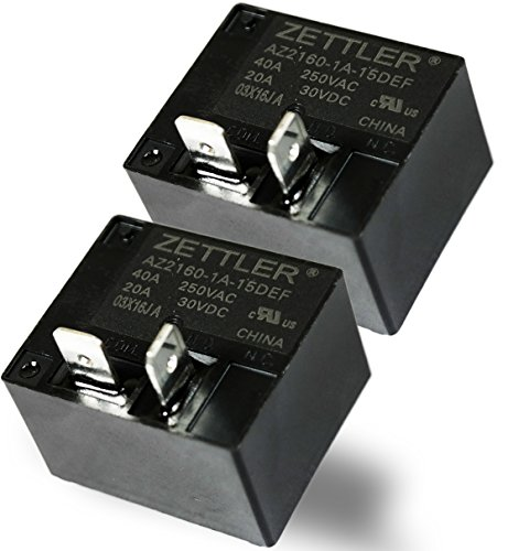 American Zettler AZ2160-1A,15DEF - 30A Miniature Power Relay (Pack of 2) ()