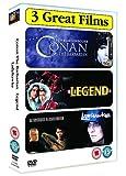 Epics Triple - Conan the Barbarian/Legend/Ladyhawke [Import anglais]