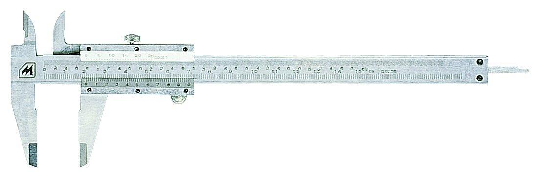 Metrica 10064 Pied à coulisse Vis de blocage 155 mm
