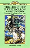 img - for The Legend of Sleepy Hollow and Rip Van Winkle (Dover Children's Thrift Classics) book / textbook / text book