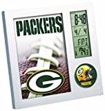 NFL Green Bay Packers Digital Desk Clock by WinCraft