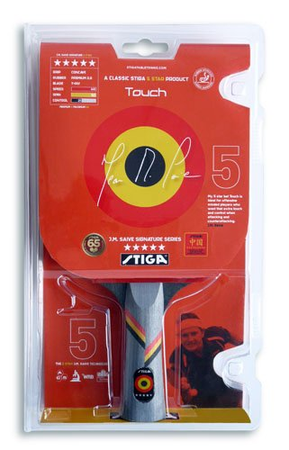 Stiga J.M. Saive Touch Table Tennis Paddle