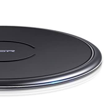 Cargador Inalámbrico Rápido ESR, Wireless Charger para iPhone XS/XS MAX/XR/X/8/8 Plus, 10 W Carga Rápida para Samsung Note 9/S9/S9 Plus/S8/Note ...