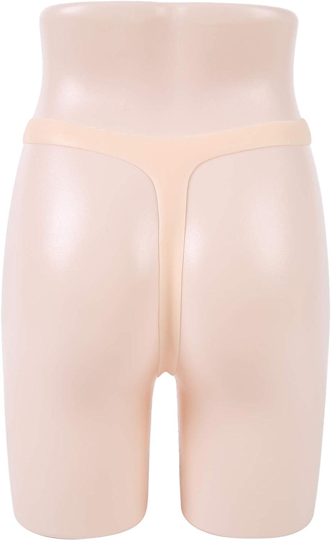 IVITA Silicone Panties Mens Camel Toe Panty Crossdresser Panty Silicone Thong Man Transgender