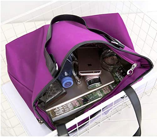 女性ナイロン防水ファッション耐久性のあるハンドバッグショルダーバッグ YZUEYT