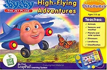 Leapfrog My First Leappad Book Jay Jay The Jet Plane High Flying