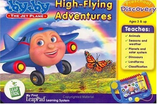 LeapFrog Enterprises My First LeapPad Book: Jay Jay High-Flying Adventures (First Leappad My Cartridges)
