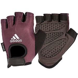 Adidas Women's Weightlifting Gloves, Purple, Medium