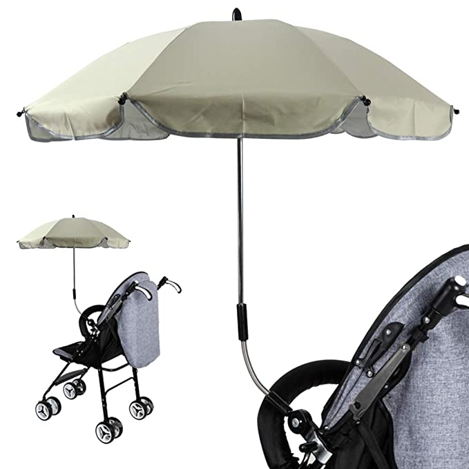 Amazon.com: Godagoda Children Umbrella UV Protection Stroller Umbrella Baby cart Mount Holder Umbrella: Kitchen & Dining