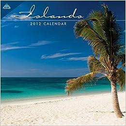 2012 Islands 7X7 Mini calendar