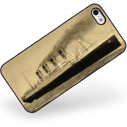 Rubber Case for iphone 5 5s Titanic, Ship - Titanic Phone Case Iphone 5