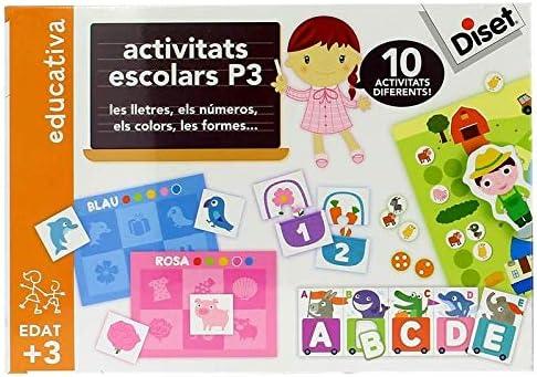 Diset Activitats Escolars P3 Catala , Juguete Educativo A Partir ...