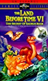 The Land Before Time VI: The Secret of Saurus Rock (Spanish Edition) [VHS]