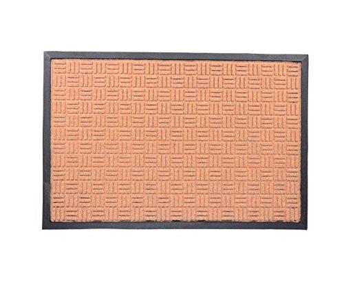 Milliard XL Doormat Jumbo Indoor & Outdoor Entrance Door Mat 24 x 36 in, Polypropylene Brown Extra - Mats Jute Door