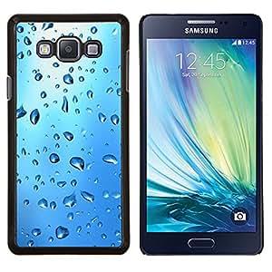 For Samsung Galaxy A7 A7000 Case , Gota de Agua Azul- Diseño Patrón Teléfono Caso Cubierta Case Bumper Duro Protección Case Cover Funda