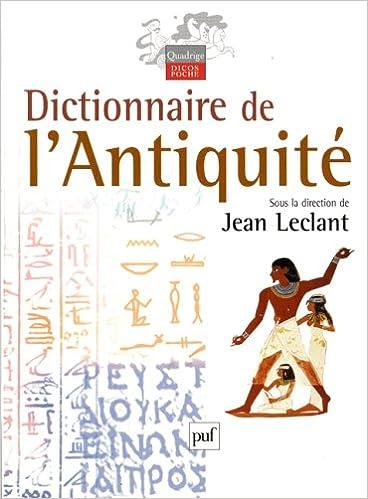En ligne téléchargement gratuit Dictionnaire de l'Antiquité epub, pdf