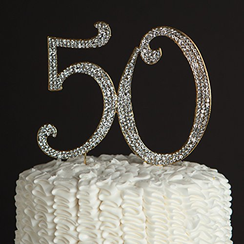 50th Wedding Cake Toppers - 3