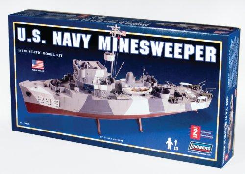 Lindberg Models U S  Navy Minesweeper