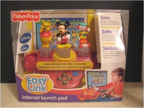 Mickey Mouse, Pooh and Jo Jo Disney Easy Link Internet Launch Pad - Links Internet