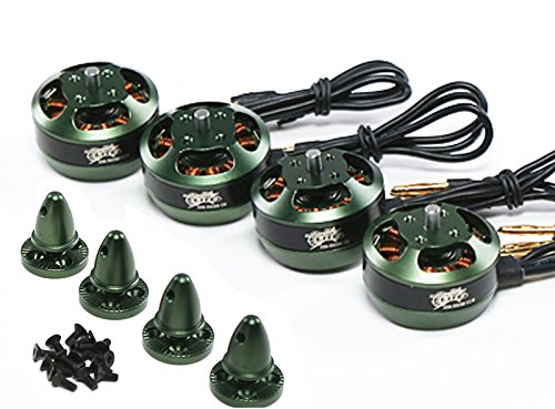 Set of 4 Multistar Elite 2204 2300kV Brushless Mot…