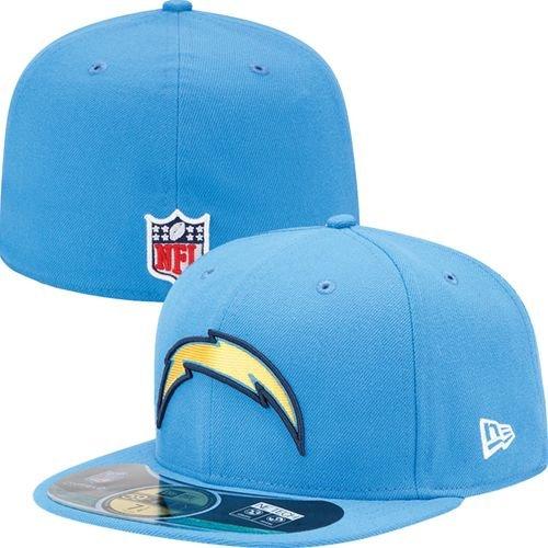 f866bbc24 Amazon.com   NFL Mens San Diego Chargers On Field 5950 Powder Cap By New Era    Sports Fan Baseball Caps   Clothing