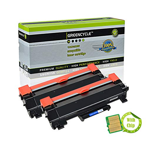 - GREENCYCLE High Yield Compatible TN760 TN-760 TN730 Toner Cartridge Replacement for Brother HL-L2350DW DCP-L2550DW MFC-L2710DW MFC-L2750DWXL, Page Yield Up to 3,000 Pages (Black, 2 Pack)