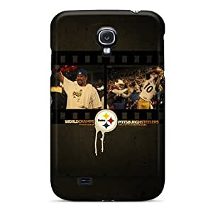 Awesome Case Cover/Galaxy S4 Defender Case Cover(pittsburgh Steelers)