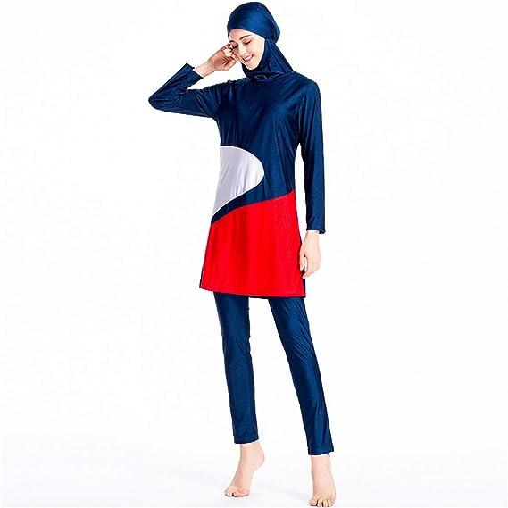 TOPKEAL Traje de Baño Conservado Musulmán, Pantalones de Baño con ...
