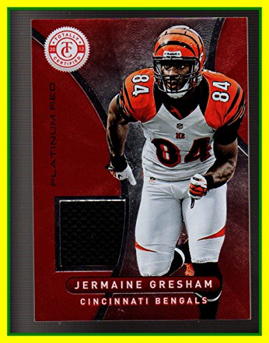 2012 Totally Certified Red Materials GAME USED JERSEY #21 Jermaine (21 Cincinnati Reds Jersey)