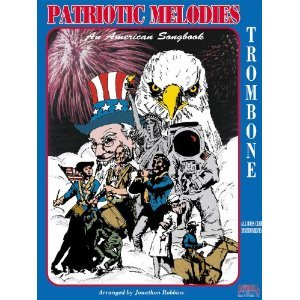 All American Patriotic Songbook - Patriotic Melodies an American Songbook Trombone All Bass Clef Instruments