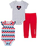Tommy Hilfiger Baby Girls' 3 Pieces Pants