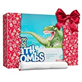 Dino Egg Bath Bombs with Surprise Inside for Kids - Dinosaur in Each Fizzy - Easter Suprise Eggs - With Learning Cards - Kids Bath Bombs & Toys Inside - Large Toy Filled - Great Gifts for Girls & Boys